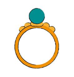 Ring draw vector