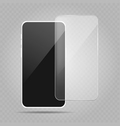 smartphone protection screen vector image