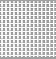 white net seamless pattern vector image