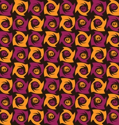 Pattern abstract colored tornado vector image vector image
