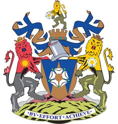 West Yorkshire County vector image vector image