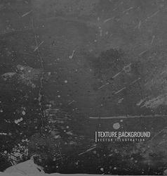 dark black grunge texture background vector image