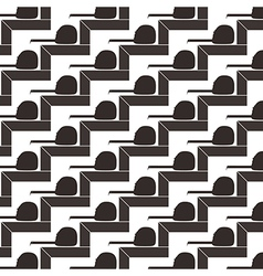 Seamless pattern background of square and tape vector image vector image