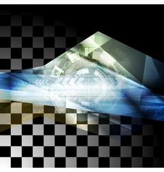 Abstract technology design vector