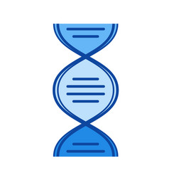 biology line icon vector image