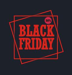 Black friday sales design vector