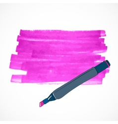 Drawing tools template sketch vector
