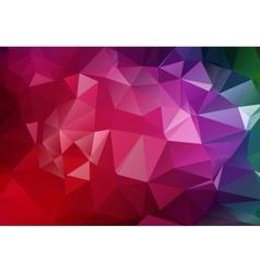 Geometrical polygon abstract purple vector image