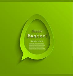 modern easter eggs background vector image