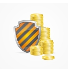 Money Safety Concept vector image vector image