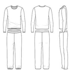Sleepwear vector image