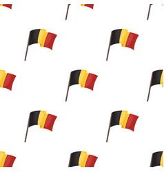 The belgian flagthe dark belgian wolf belgium vector