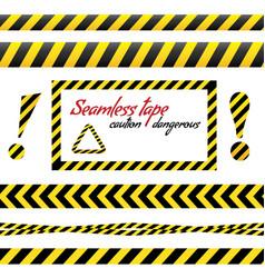Warning tape danger tape vector