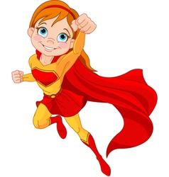 Super girl vector