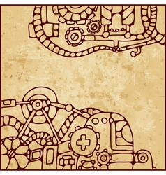 mechanical pattern vector image