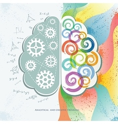 Analytical and Creative Thinking vector image