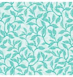 Green branches texture seamless pattern vector