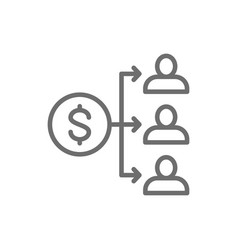 Income distribution dividend payment salary vector
