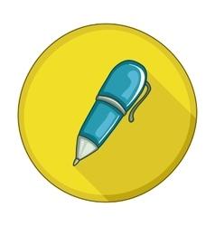 Pen flat icon vector
