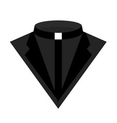 Priest dress icon vector