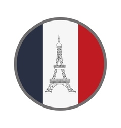 french emblem icon vector image
