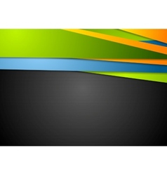 Abstract bright corporate background vector