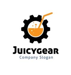 Juicy Gear Design vector
