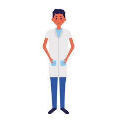 medical people staff vector image