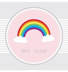 Tuesday card1 vector