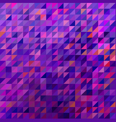 abstract geometric triangle background vector image