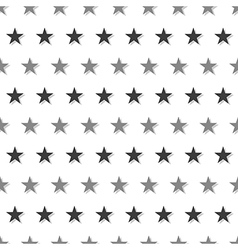 Gray black star abstract white background vector