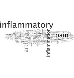 Are you stricken with chronic inflammatory vector