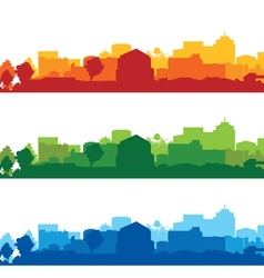 Cityscapes short vector
