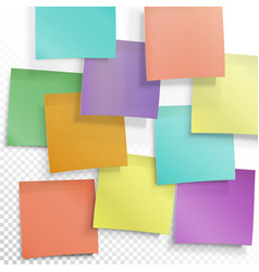 Colorful sticky notes busy concept editable vector