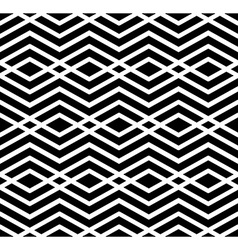 Contrast geometric seamless pattern with symmetric vector