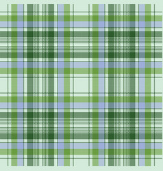 Green plaid pixel seamless fabric texture vector
