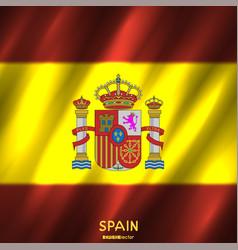 National spain flag background vector