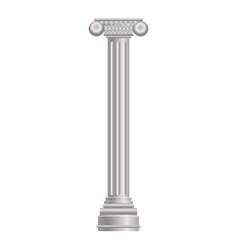 Pillar column icon cartoon style vector