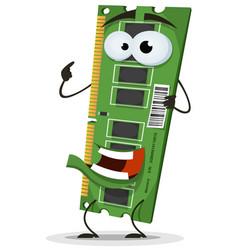 Ram memory card character vector