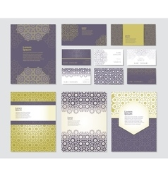 Banners set of templates vector image vector image