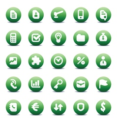 icons for business metaphors vector image