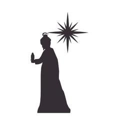 magi man king vector image