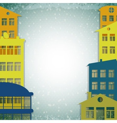 houses background vector image