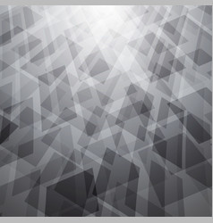 abstract background with white and gray objects vector image