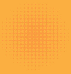 Background template design with yellow dots vector