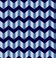 Chevron blue foil vector image