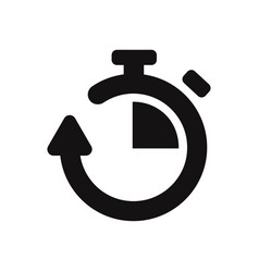 chronometer icon vector image