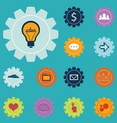Creative Icons set vector image