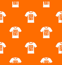 electronic t-shirt pattern seamless vector image
