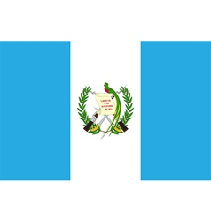 Flag of Guatemala vector
